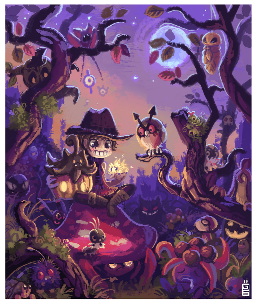 Pokemonween by griffsnuff