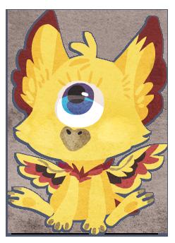 Eyeball chibi by griffsnuff