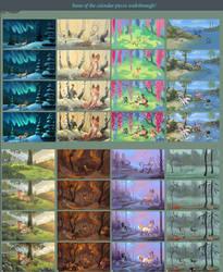 Walkthrough  some of the calendar by griffsnuff