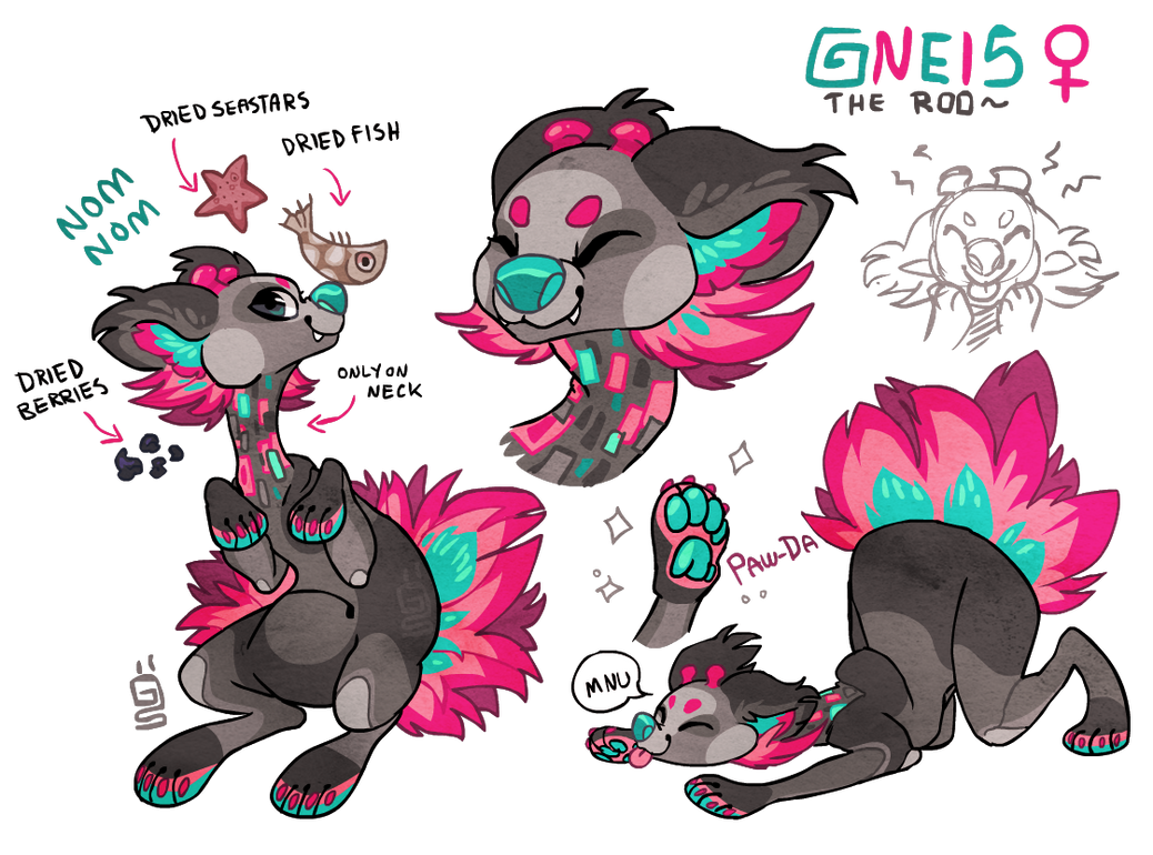 Gneis Roo by griffsnuff