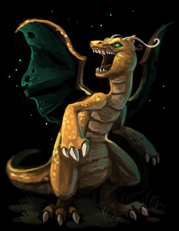 Dragonite by griffsnuff
