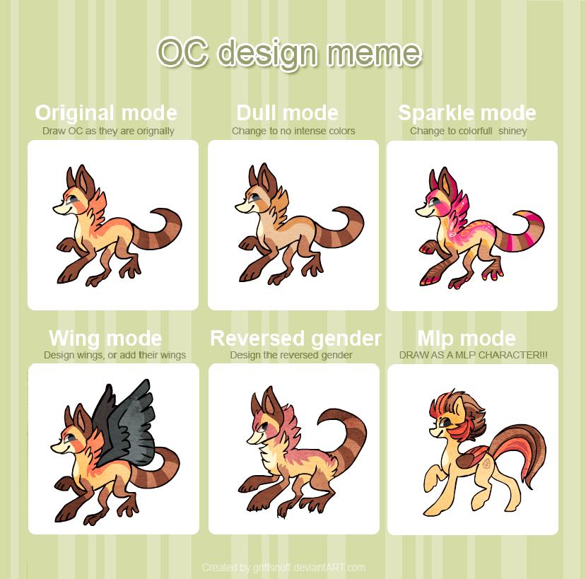 OC design meme _ Snuffen by griffsnuff