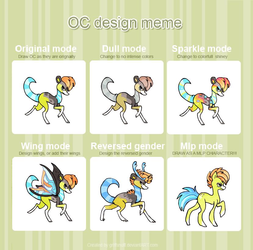 OC Design meme_ Plamen by griffsnuff