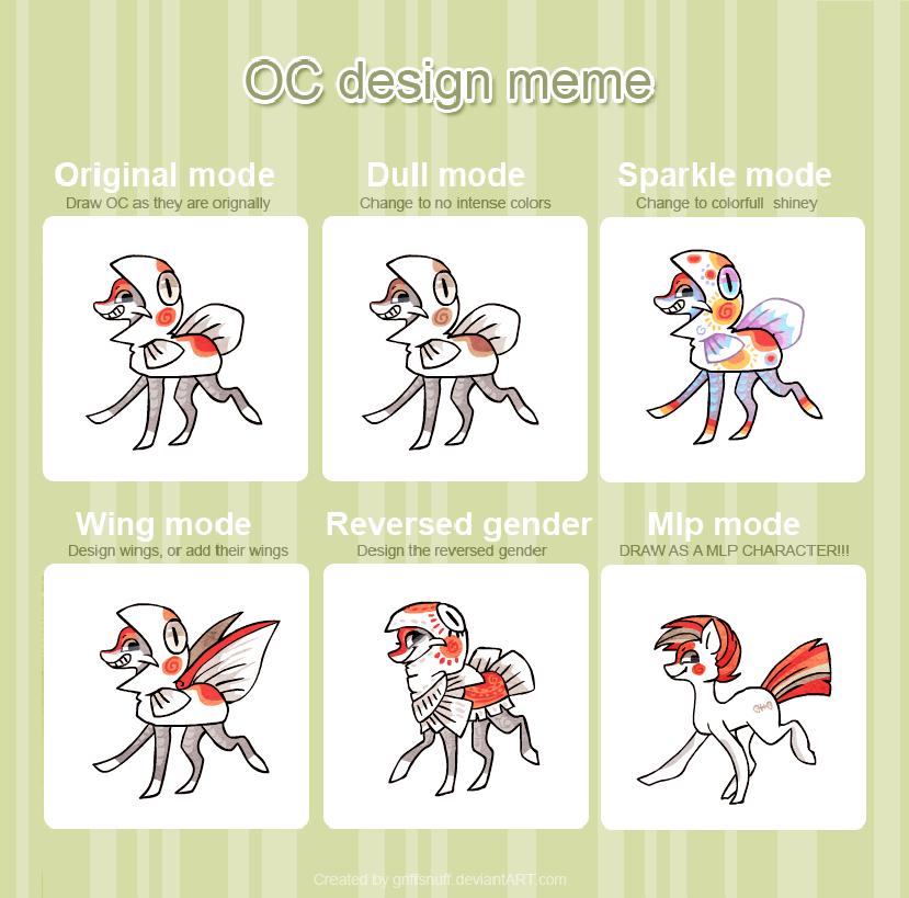 OC Design meme _ Fisk by griffsnuff