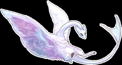 Silky dragon by griffsnuff