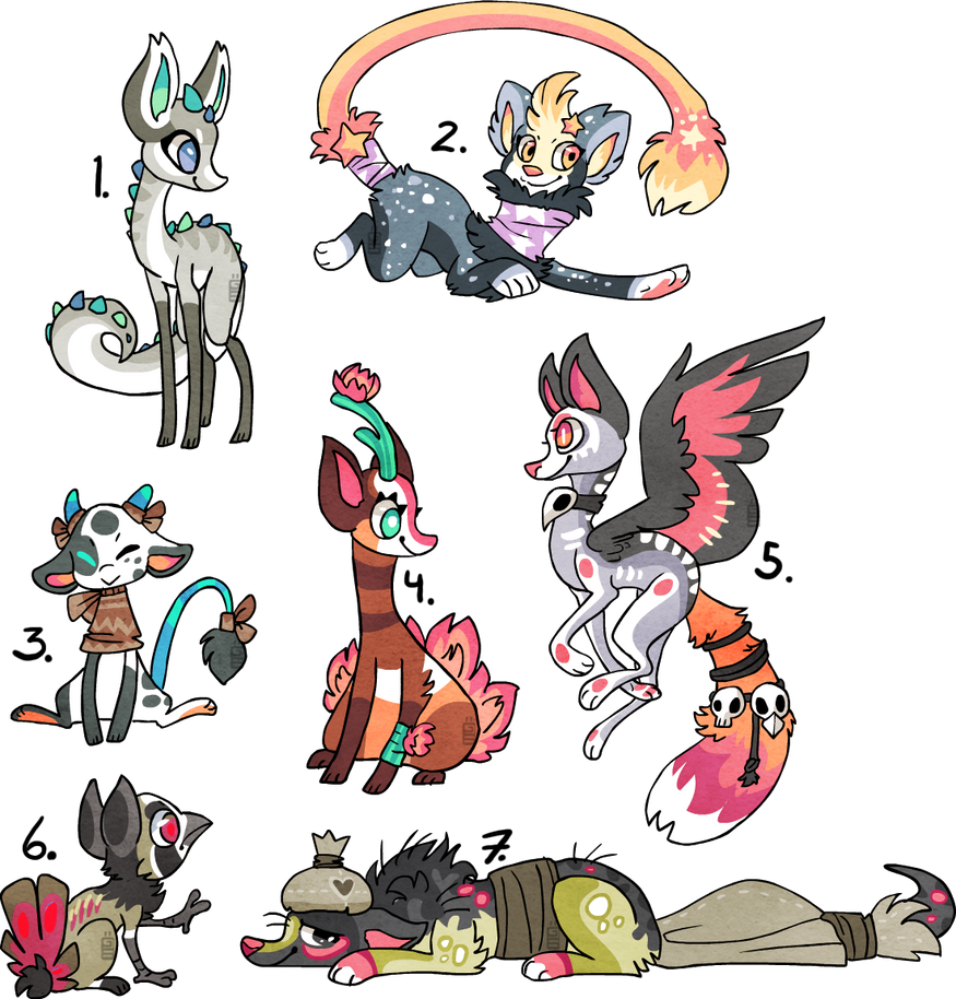 Anime Characters For Sale : Designs sold by griffsnuff on deviantart