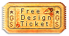 Free Design Ticket by griffsnuff