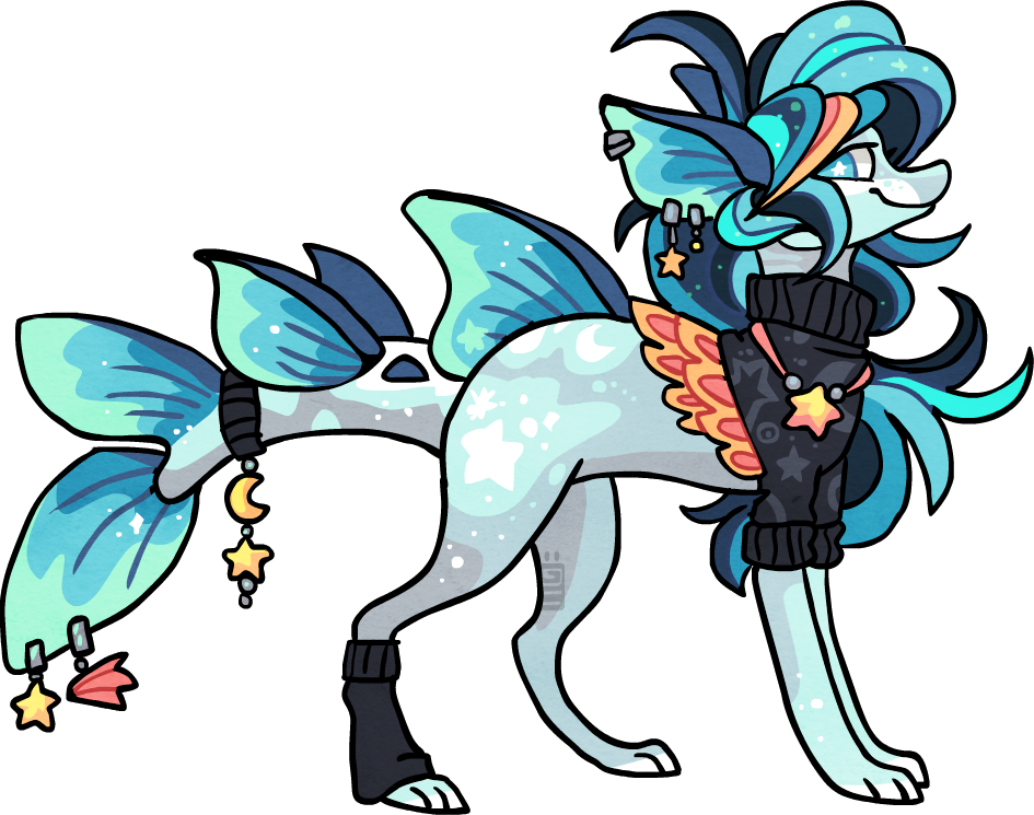 14F Cosmic fishy by griffsnuff