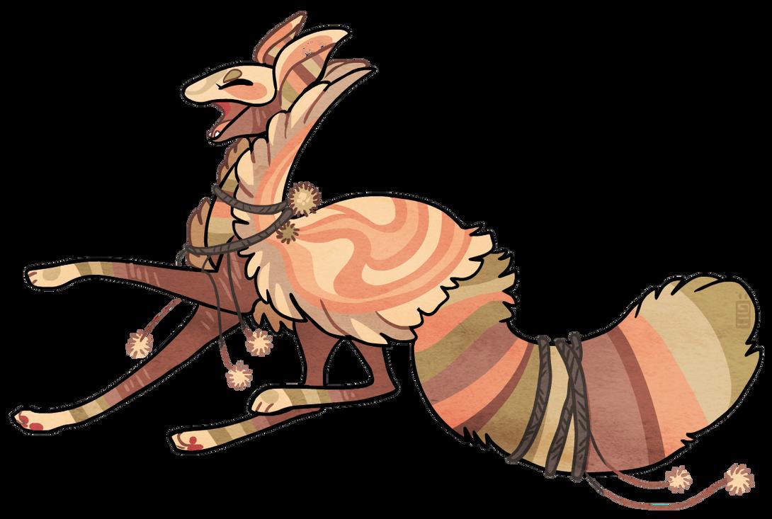 Custom feathercloak by griffsnuff