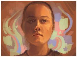The artist by griffsnuff