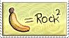 Banana equals stamp