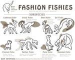 Fasion fishy variations (closed species