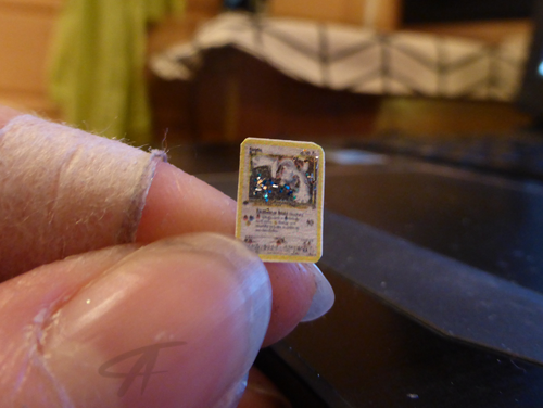 Holo lugia mini pokemoncard by griffsnuff