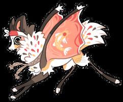 Festival fox by griffsnuff