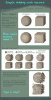How to shade with Texture Tutorial