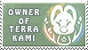 Terrakami owner stamp by griffsnuff