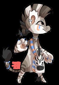 #13 Bagbean - Zebra - CLOSED