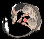Yin Yang Rat dragon
