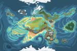 Griffia World map (my species)