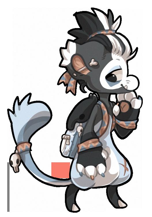 #38 Bagbean - Malaysian Tapir by griffsnuff