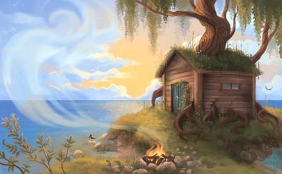 The wisdom house by griffsnuff
