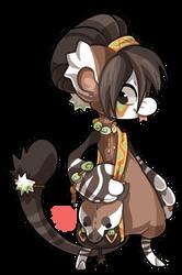 #59 Bagbean - Okapi by griffsnuff