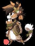 #61 Bagbean - Great horned owl