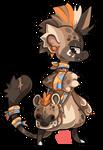 #62 Bagbean - Spotted hyena