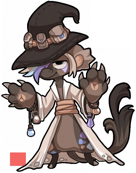 Npc Bagbean - Wizard bean by griffsnuff