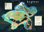MAP - Bagbean Habitable zone map with Towns names by griffsnuff