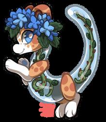 #9 Terradragon - Blye hydrangea and thorns by griffsnuff