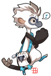 #168 Bagbean - Blue footed booby