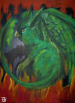 Gryphon 2005 painting