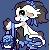 172 Floral Bagbean   Blue Peony By Jellytix-daomw by griffsnuff
