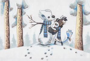 Snowbean by griffsnuff