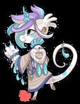#335 Celestial Bagbean w/m - Rockydove candy