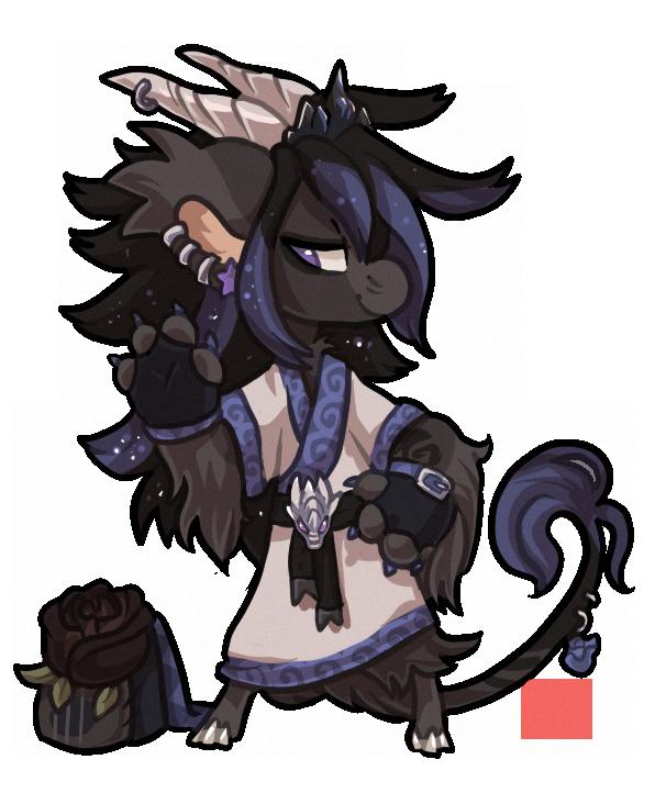 REBASE #318 Black rose + mutations by griffsnuff