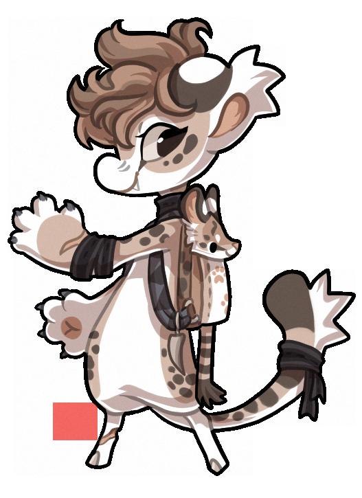#348 Bagbean - Serval by griffsnuff