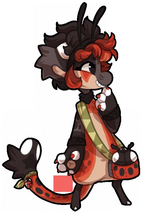 #371 Bagbean - Ladybird by griffsnuff