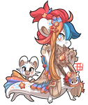 #535 Blessed Tale BB w/m - Selkie