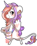 #547 Nomnom BB w/m - Unicorn hot chocolate