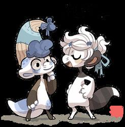 Sibling Shenanigans by griffsnuff
