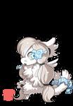 #835 Cursed Legendary BB w/m - E. Fairytale fox by griffsnuff