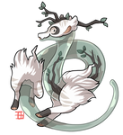 #18 Terrakami - Plasma Terradragon - Forest Ghost