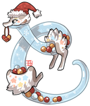 #20 Terrakami - Plasma dragon - Winter Ornaments