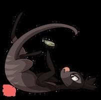 #15 Riceraptor -A- Striped hunter by griffsnuff