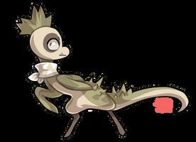 #16 Riceraptor -A- Skullcactus by griffsnuff