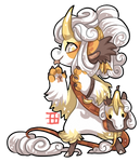 #1018 Blessed Mythical BB - Banana Unicorn AUCTION