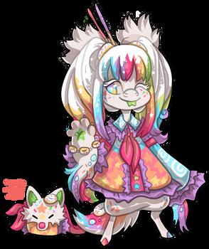 #1156 Hybrid BB - Anime Cosplaying Wolf
