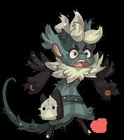 #1232 Celestial BB - Thorn kitty by griffsnuff